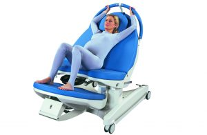 AVE Active Birthing Bed Tilted Foot Section