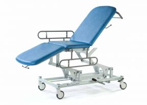 Examination Couch 3 Section with Wheels