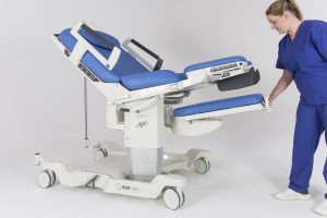 AVE 2 Birthing Bed Tilting Foot Section