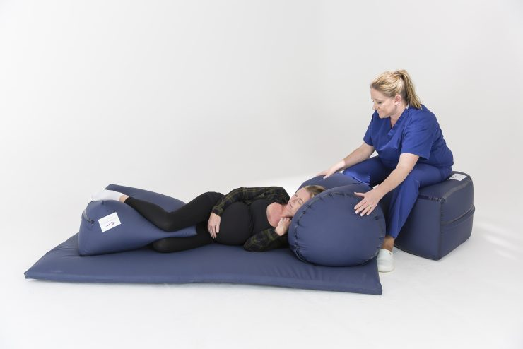 Positioning Pillow for Childbirth & Supported Sitting Positions